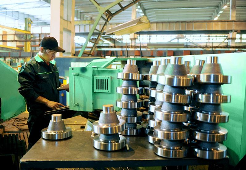 flanges manufacturing industry