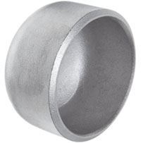 Pipe fitting end caps