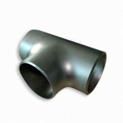 astm a420 wpl6 butwelded pipe fittings tee manufacturers